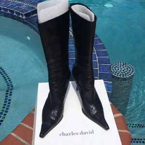 90's Charles David boots